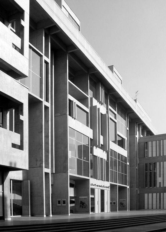 Centre National de la Danse à Pantin - Jacques Kalisz, 1972