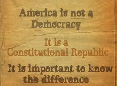 America is not a democracy         ~Mandy      #homeschool #welove2promote #digitalproducts #software #makemoneyonline #workfromhome #ebooks #arts #entertainment #bettingsystems #business #investing #computers #internet #cooking #food #wine #ebusiness #emarketing #education #employment #jobs #fiction #games #greenproducts #health #fitness #home #garden #languages #mobile #parenting #families #politics #currentevents #reference #selfhelp #services #spirituality #newage #alternativebeliefs…