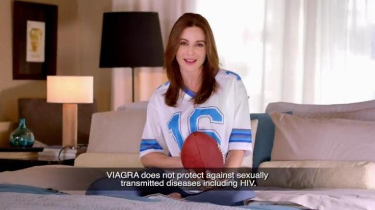 Sure watching football is great, but cuddling after the game is nice too. And, there's Viagra to help with the rest.