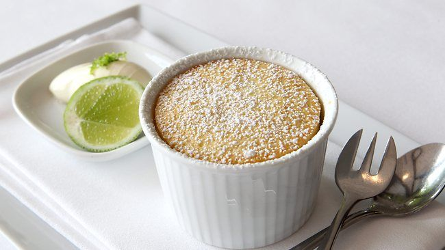 zest is best - Matt Moran Lime delicious pudding