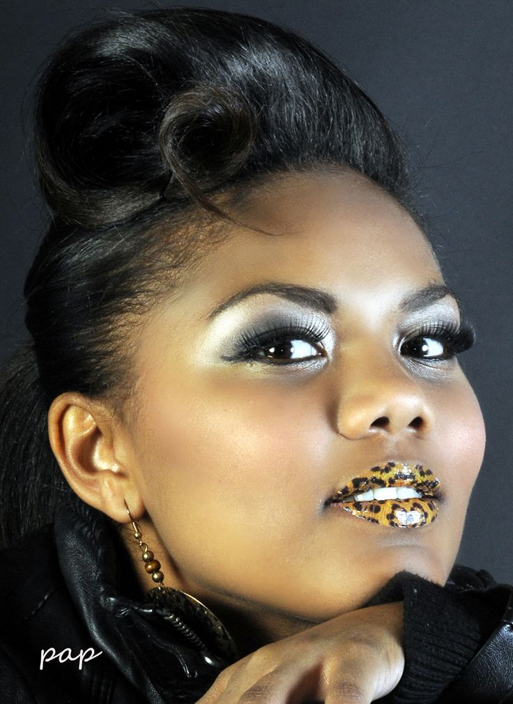 New age retro Make-up and Hair done By Yolandie - Hair & Make-up Artist