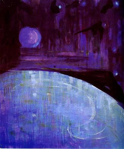 Creation of the World III - Mikalojus Ciurlionis