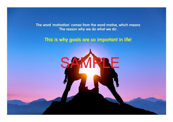 Poster sample - Goal Setting