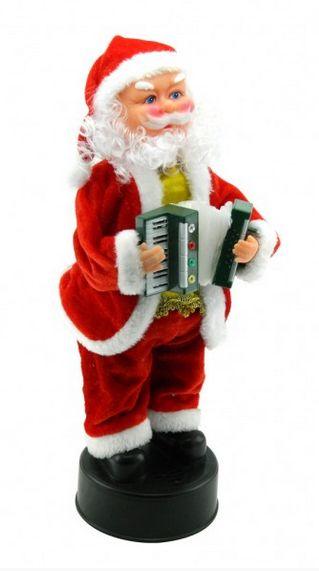 Papa Noel musical con luces NM 17 $30000 39 x 16 cms