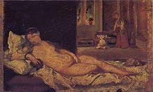 Vénus d'Urbin, copie d'après le tableau de la galerie des Offices de Florence 1856 (24 × 37 cm), collection particulière. ۩۞۩۞۩۞۩۞۩۞۩۞۩۞۩۞۩ Gaby Féerie créateur de bijoux à thèmes en modèle unique ; sa.boutique.➜ http://www.alittlemarket.com/boutique/gaby_feerie-132444.html ۩۞۩۞۩۞۩۞۩۞۩۞۩۞۩۞۩