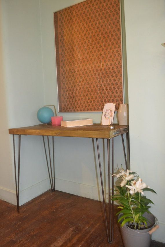 Industrial Dressing Table G-plan Mid Century Modern  Here we have a Stunning handmade Dressing Table It is made from quality Wood that has