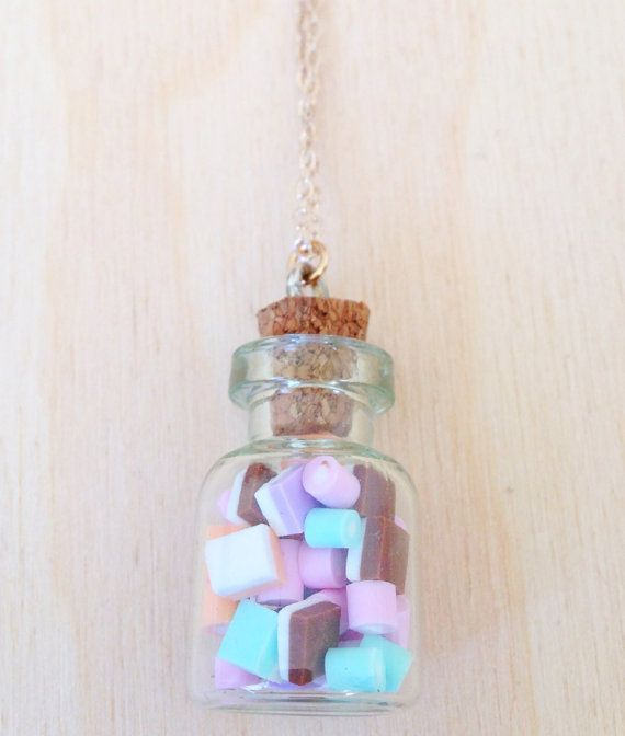 Sweetie Pendant Necklace  Miniature Dolly by FredericaDixon, £13.99