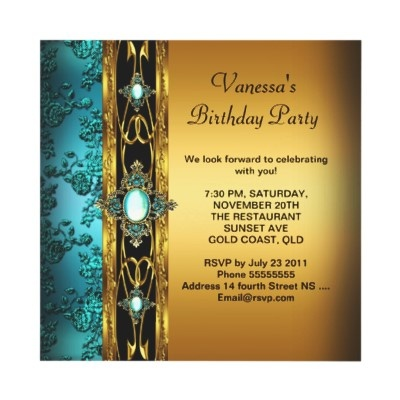 Best Canarys Birthday Images On Pinterest Birthday Ideas - Birthday invitation gold coast