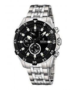 FESTINA Chronograph Stainless Steel Bracelet F16603/2