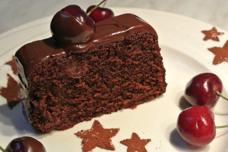 Čokoládovo-třešňové řezy