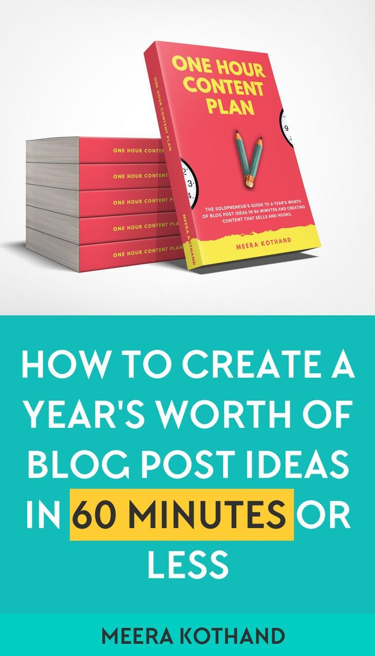 Do you always struggle to come up with content ideas? You're also not sure how to create content to promote your products or services. If you're nodding yes, The 1-Hour Content Plan will help you generate countless ideas. To be exact, a full year's worth of content ideas in 60 minutes or less. The book's on Amazon for less than the price of coffee! #writing #blogging #book #advice #business #entrepreneur #blog #blogger