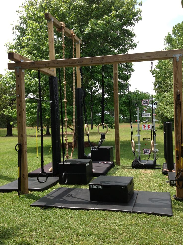 141 best diy outdoor gym inspiration images on pinterest for Diy jungle gym ideas