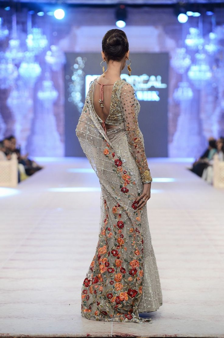 "highfashionpakistan: "" Sania Maskatiya, PFDC Loreal Paris Bridal Week, Oct 2014 """
