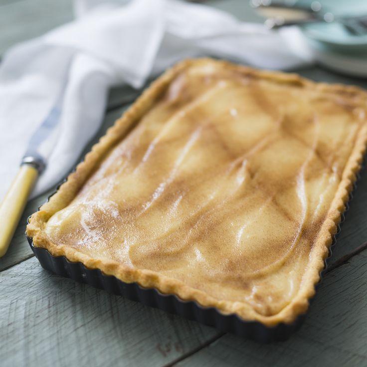 Milk tart | Thermomix | Vegetarian Kitchen cookbook and recipe chip | p. 162 |