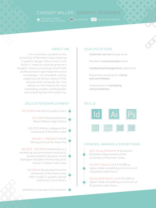 30 best Arts Resumes images on Pinterest Creative cv, Creative - resumes with color