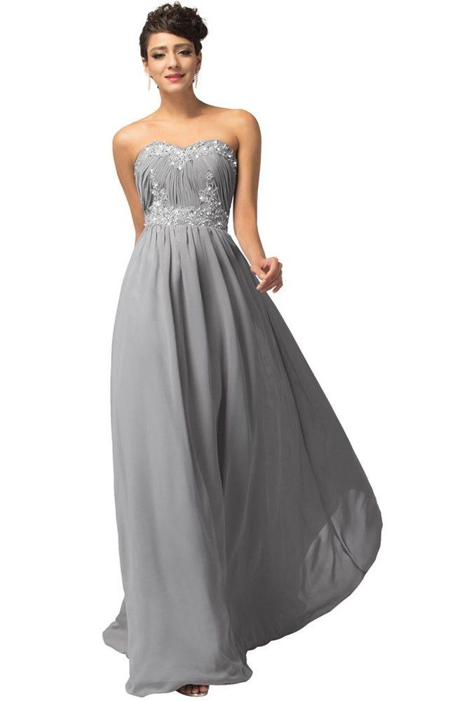 long-grey-bridesmaid-dresses