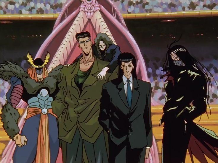 Team Toguro - YuYu Hakusho Wiki - Wikia