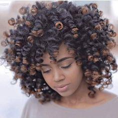 Beautiful Perm Rod Set Curls IG:@coolcalmcurly, photo credit: @stephenceneus #naturalhairmag