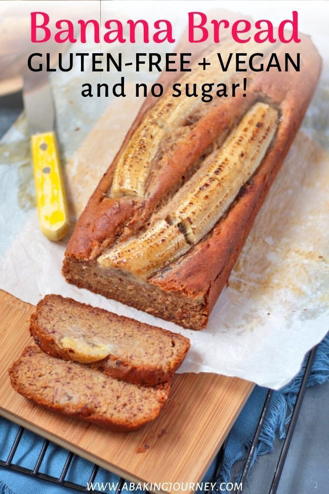 This Healthy Banana Bread Recipe Is Dairy Free Vegan Gluten Free