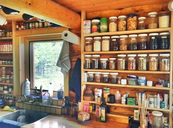 Open Pantry Beautiful Kitchen: Best 25+ Kitchen Jars Ideas On Pinterest