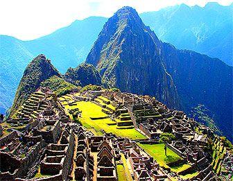 The inca trail..machu pichu