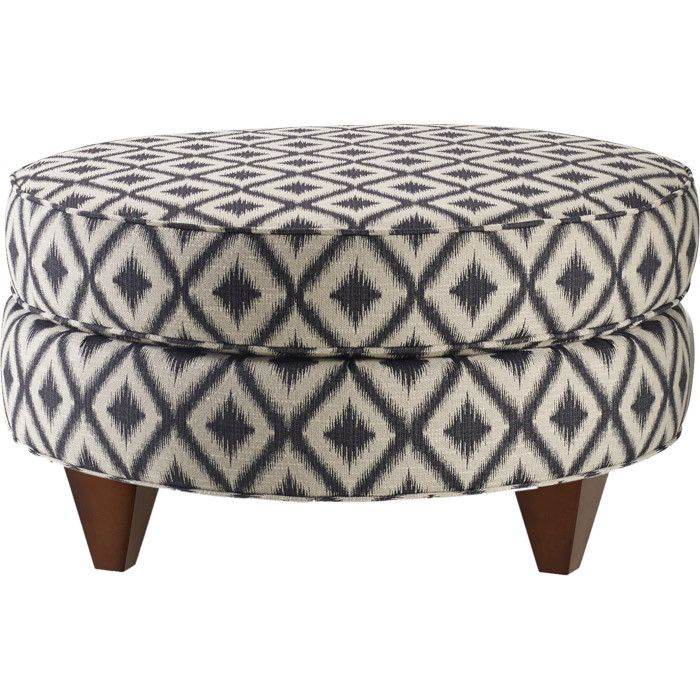 Emilia Cocktail Ottoman   Bring Stately Style To Your Living Room Or Den  With This Cotton Upholstered Cocktail Ottoman, Showcasing A Diamond Motif  And ... Part 27