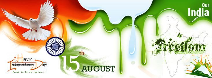 Let us celebrate & enjoy the freedom to live  independently in our country Cheerfully, Helpfully, Hopefully, Peacefully by remembering  our National Heroes who gave us Freedom after suffering pain & humiliation.  A Proud Indian {HaPpY InDePeNdEnCe DaY}