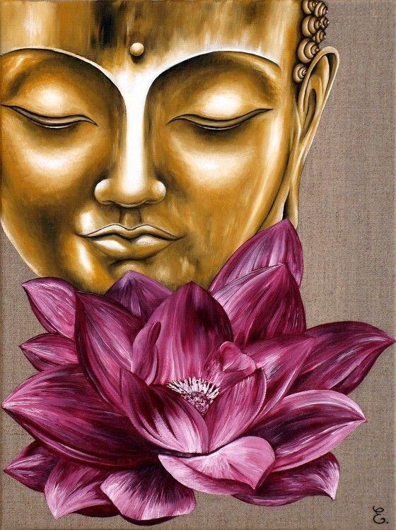 peinture bouddha - Recherche Google