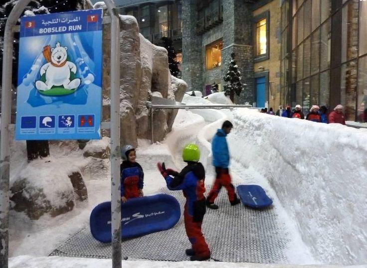 Indoor ski area Ski Dubai – Mall of the Emirates - Skiing Ski Dubai – Mall of the Emirates