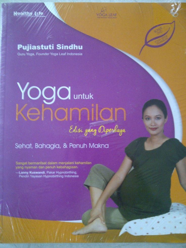 Buku + DVD Original Senam Yoga Untuk Kehamilan Sehat Bahagia