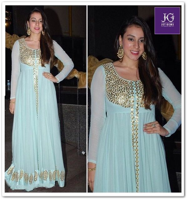 Gorgeous Anindita Nayar spotted wearing Jet Gems jewellery.