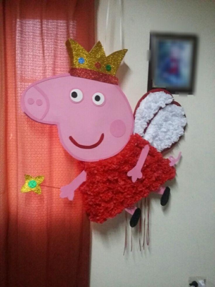 Piñata Peppa Pig - $ 370,00 en Mercado Libre