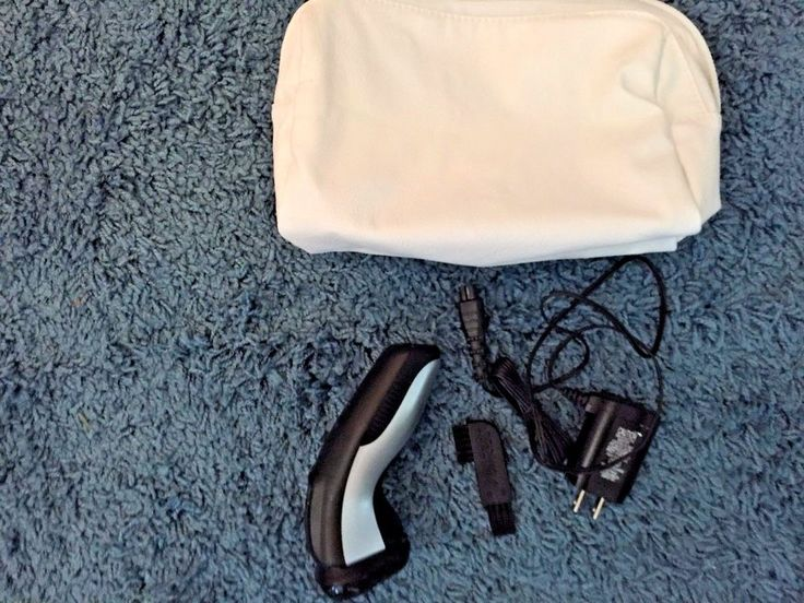 Remington Rotating head Razor charger bag trimmer rechargable wash with water br #Remington