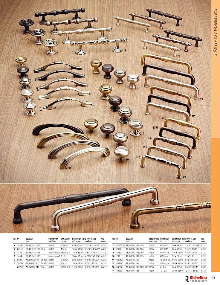 Catalogue - Collection - page 79 - Quincaillerie Richelieu