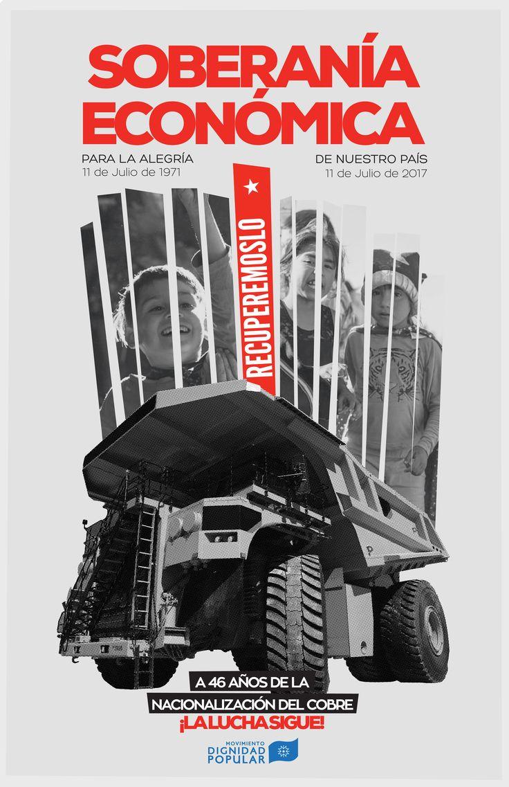 A 46 años de la Nacionalización del cobre, ¡LA LUCHA SIGUE!