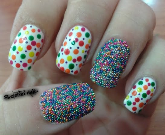 Easy and Lasting Caviar Nails