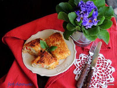 Moje Małe Czarowanie: Naleśniki z serem i ziemniakami po ukraińsku