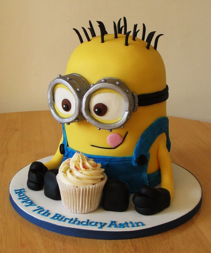 189 best Minion cake images on Pinterest Cake minion Conch