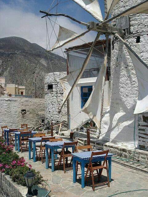 Olympos village in karpathos island