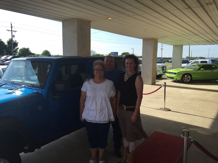 Rex & Gena with their BRAND NEW 2015 Jeep Wrangler Unlimited RHD!!!