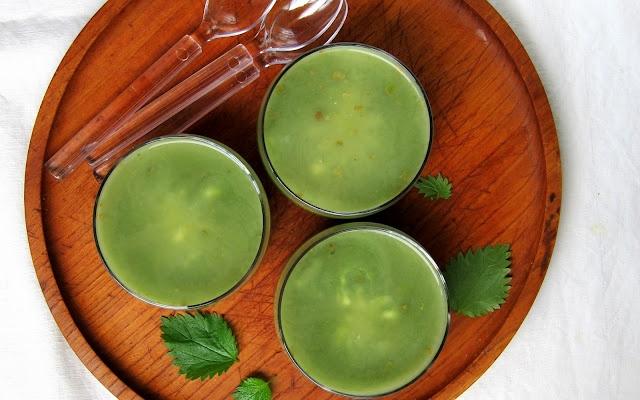 Zuppa di Ortiche - Stinging Nettle Soup | hip pressure cooking - pressure cooker recipes & tips!