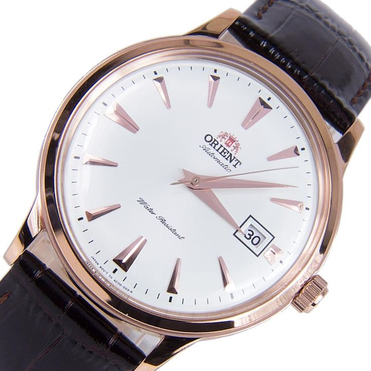 A-Watches.com - Orient  FAC00002W SAC00002W Mechanical Bambino Rose Gold Tone Hands Markers Date Elegant Male Watch, $132.00 (https://www.a-watches.com/orient-fac00002w-sac00002w-mechanical-bambino-rose-gold-tone-hands-markers-date-elegant-male-watch/)