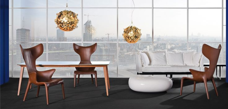 LOU READ Кресло Размеры: 70 х 76 х 120 см Материал: металл, полиуретан, кожа Дизайн: Филипп Старк / Philippe Starck, Юджен Квитлет / Eugeni Quitllet Производитель: Driade Страна: Италия