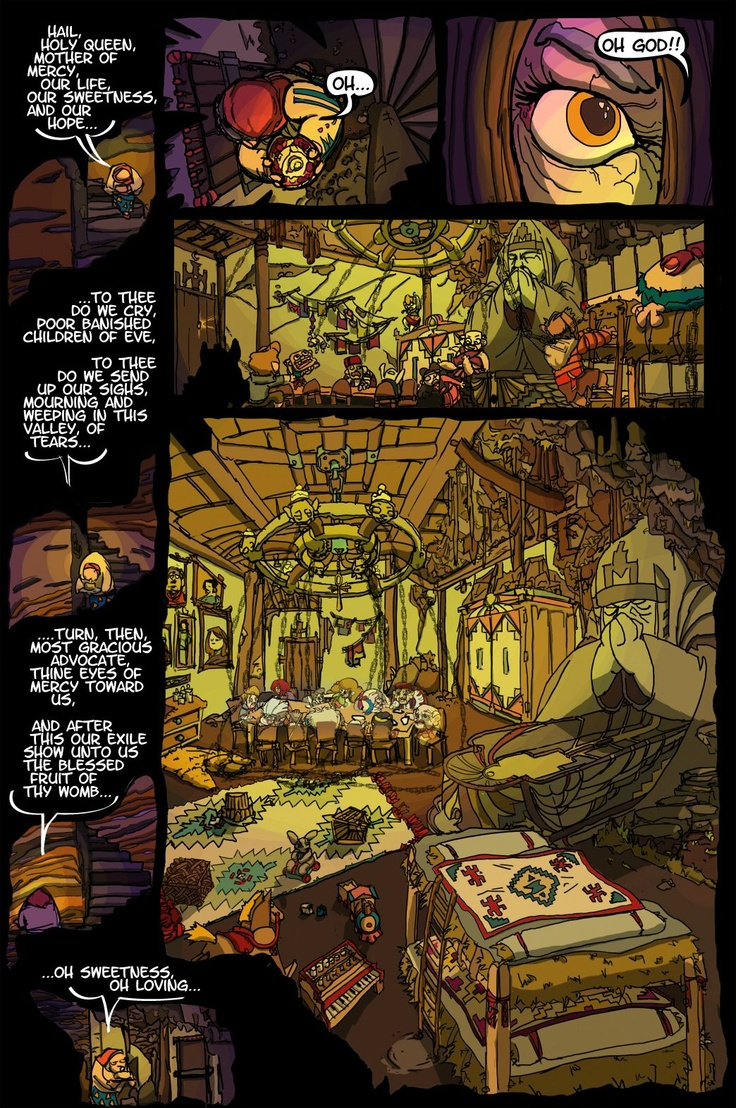 Inquest of Missing Time comic book Vol 1  Page 6