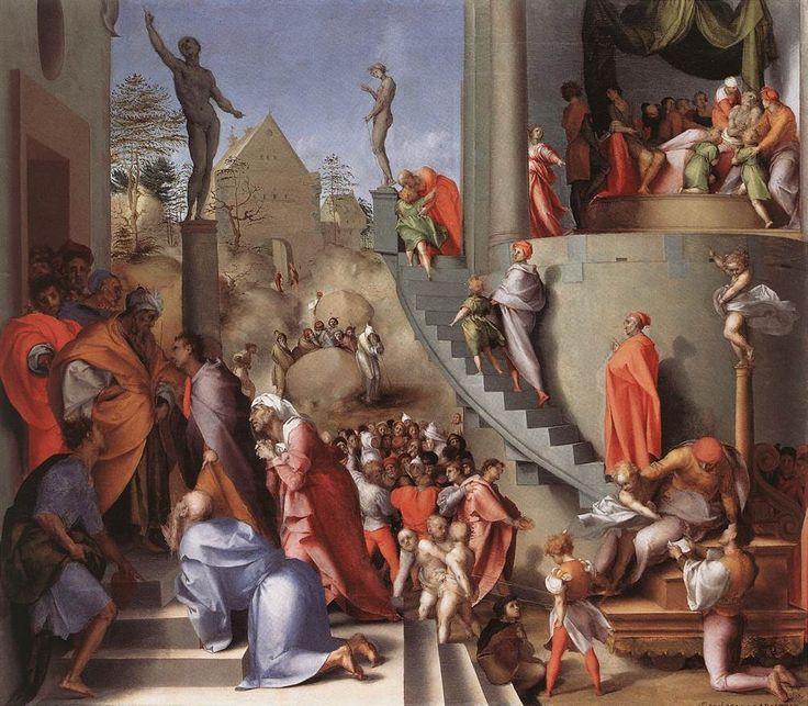 Joseph in Egypt ~ Jacopo Tontormo - 1515-18