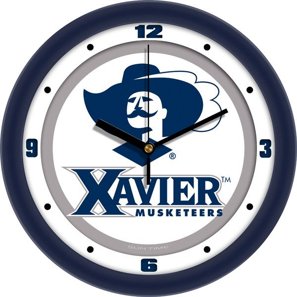 Mens Xavier Musketeers - Traditional Wall Clock
