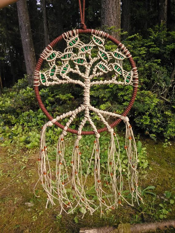 previous pinner -8 Inch Tree of Life Dreamcatcher от Evergreenbohemian на Etsy, $40.00