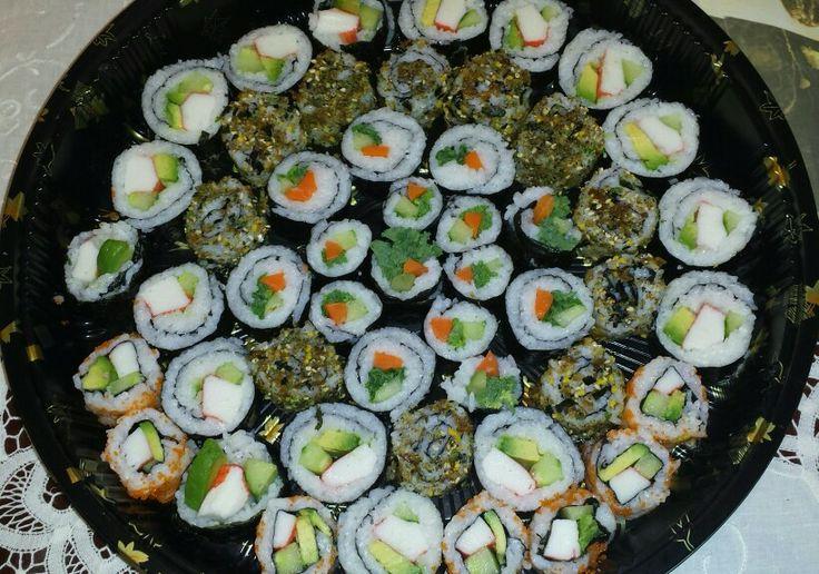 #Homemade Sushi for Pia
