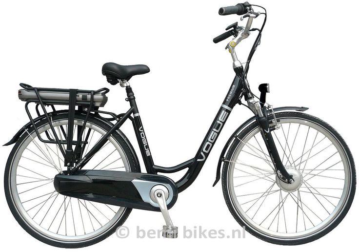 Vogue Premium 3 V Lichtgewicht Elektrische fiets Black 2015