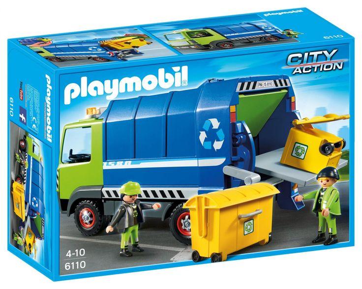 Klocki Playmobil Nowa Śmieciarka 6110 - od 58,65 zł, porównanie cen w 21 sklepach. Zobacz inne Klocki, najtańsze i najlepsze oferty, opinie.
